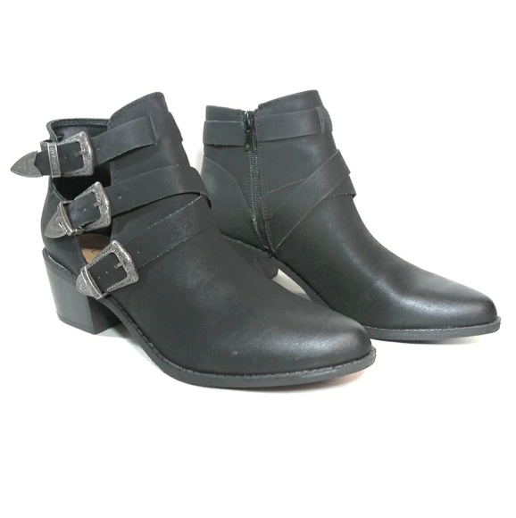 Sugar Shoes - Sugar Shoes Western Style Ankle Bootie